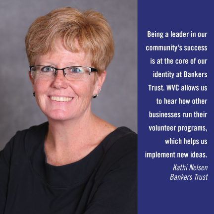 Workplace Volunteer Council - Bankers Trust - Kathi Nelson