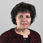 Staff member Sandy Nickol