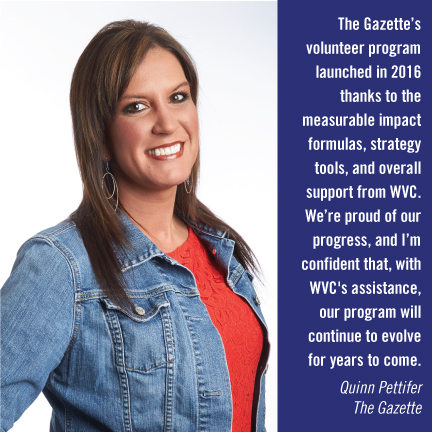 Workplace Volunteer Council - The Gazette - Quinn Pettifer