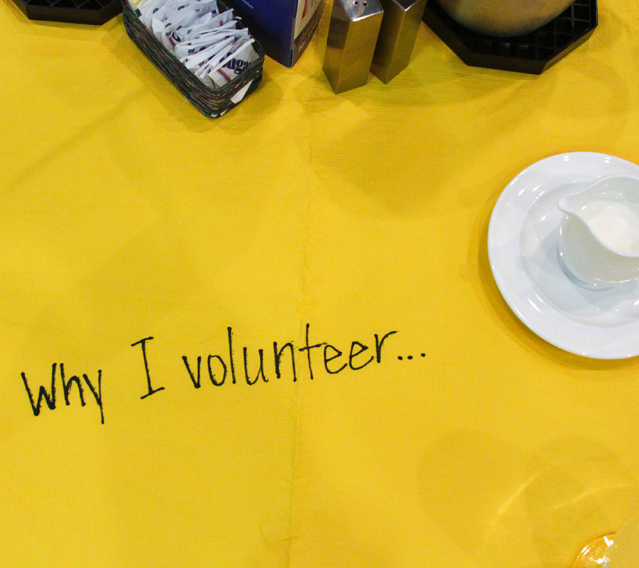Way sto Give- Volunteer