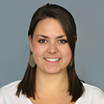 Staff member Ashley Zitzner