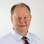 Staff member Cliff Ehlinger