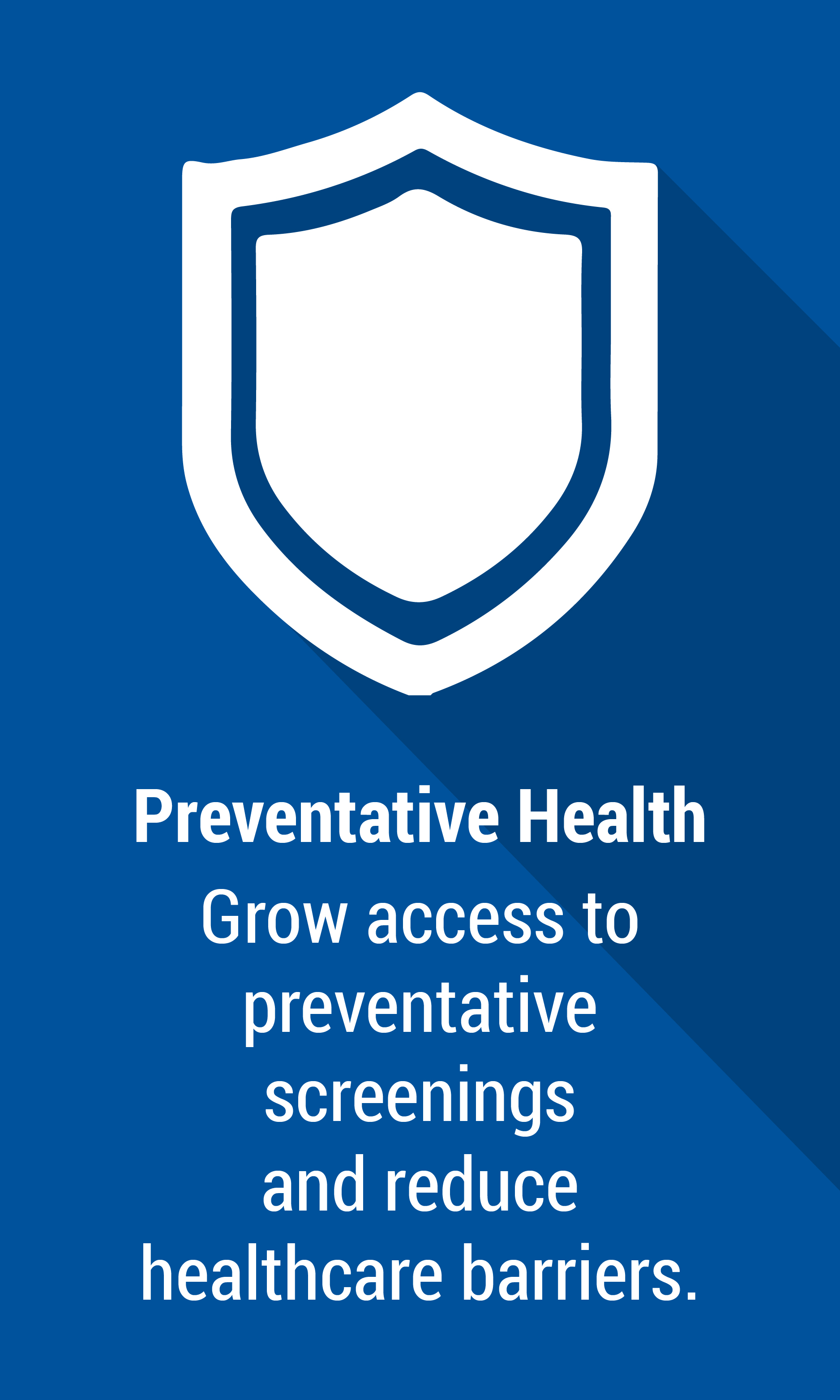 Preventative Health - Addressing the Issues