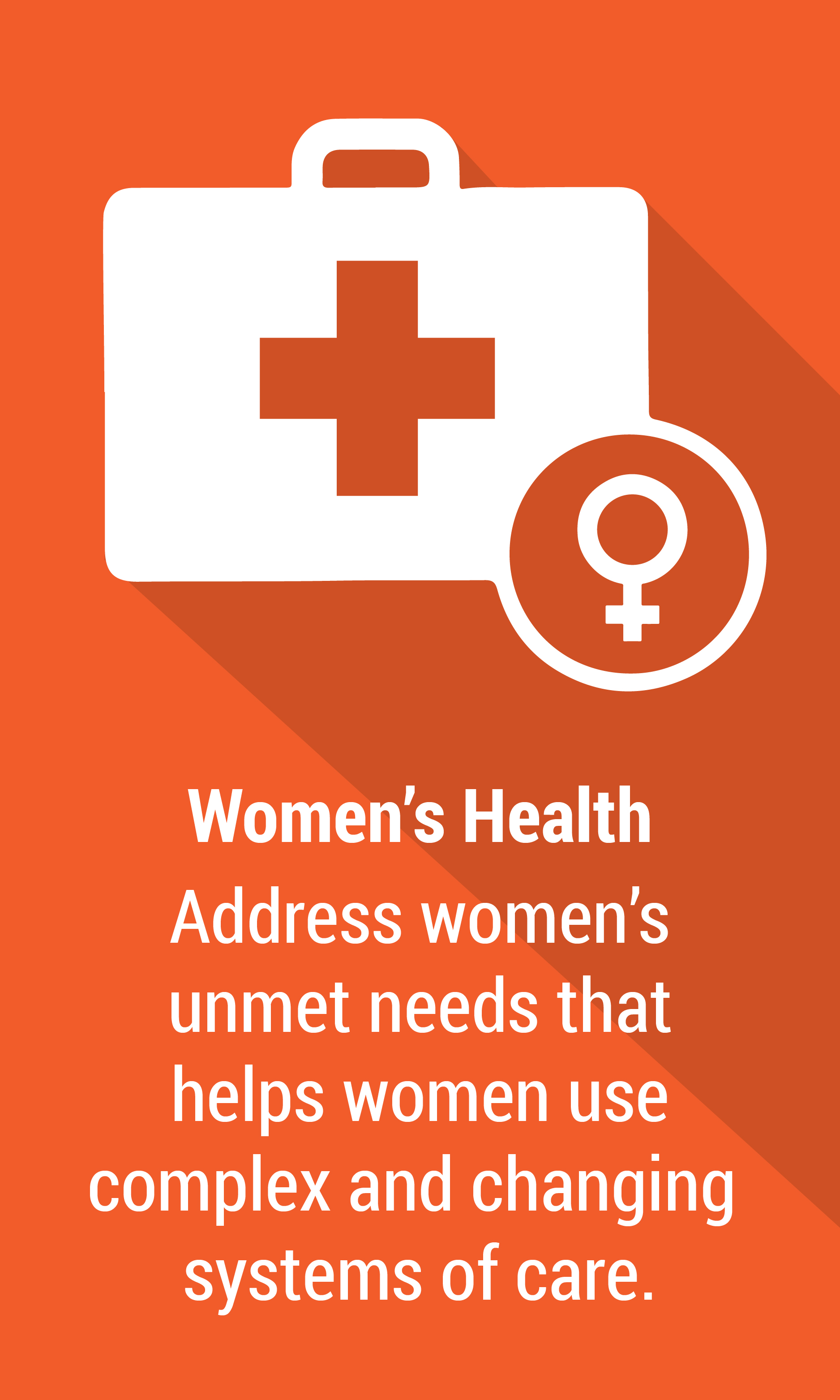 Women's Health - Addressing the Issues