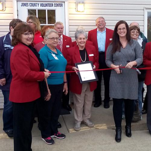 National Volunteer Month: Jones County